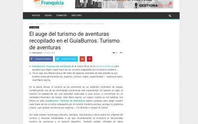 EnFranquicia se hace eco del GuíaBurros: Turismo de aventuras, de José María Jayme