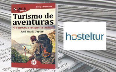 El «GuíaBurros: Turismo de aventuras» en el portal digital Hosteltur