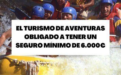 El turismo de aventuras se ve obligado a tener un seguro mínimo de 6.000€